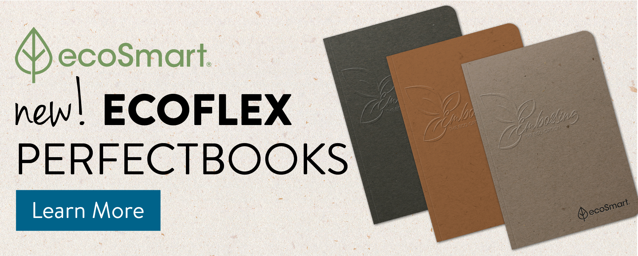 New EcoFlex PerfectBook Covers