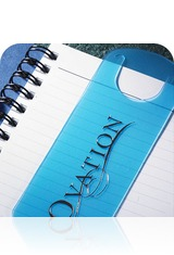 Imprinted Bookmark Journal