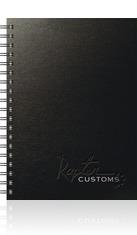 TexturedMetallic Med. NoteBook Journal