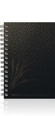 TexturedMetallic SeminarPad Journal
