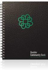 TexturedMetallic Lg. NoteBook Journal