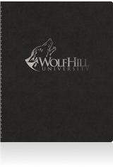 Leatherette Wraparound Journal