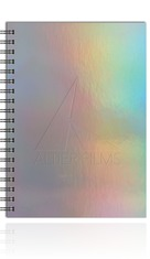 Holographic Rainbow Medium NoteBook Journal