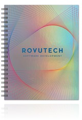 Holographic Rainbow Large NoteBook Journal