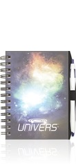 ClearView NotePad w/ PenPort & Pen Journal