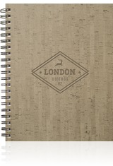 Cork Large NoteBook Journal