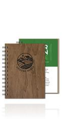 WoodGrain NotePad Journal